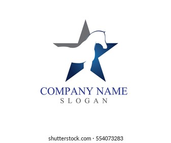 Star horse logo