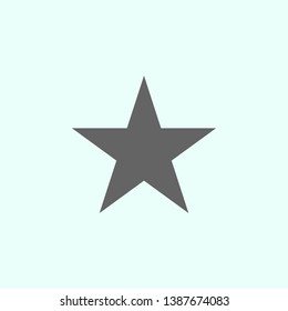 star icon. Elements of geometric figures illustration icon. Signs and symbols can be used for web, logo, mobile app, UI, UX