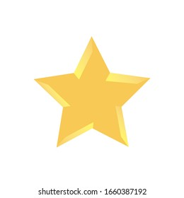 Star Icon for Graphic Design Projects