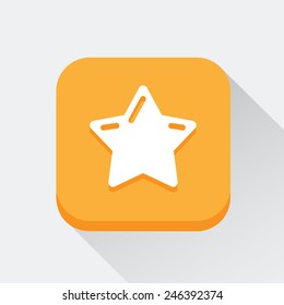 Star icon great for any use. Vector EPS10.