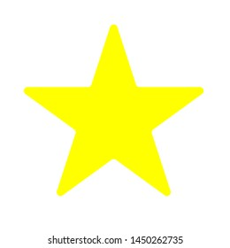 star  icon. Logo element illustration.star symbol design. colored collection. star  concept. Can be used in web and mobile