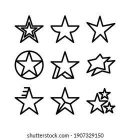 star icon or logo isolated sign symbol vector illustration - Collection of high quality black style vector icons