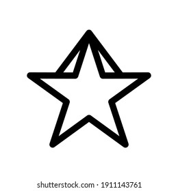 star icon or logo isolated sign symbol vector illustration - high quality black style vector icons