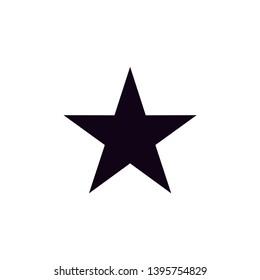 star icon vector. star flat icon