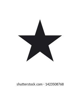 star icon vector flat design