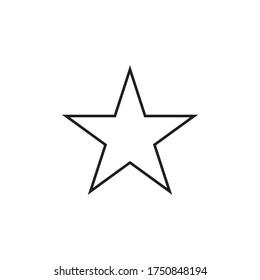 Star Icon Vector Illustration Design
