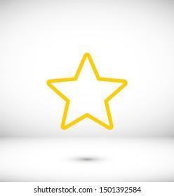 Star icon vector illustration EPS10
