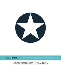 Star Icon Vector Logo Template