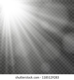Star light. Beautiful star. Light from above. An excellent background for illustration. Beautiful light.