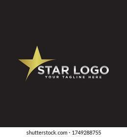 Star Logo Design Vector Template