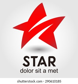 Star logo element innovative and creative inspiration for business company