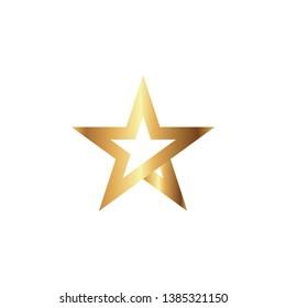Star logo graphic design template vector illustration