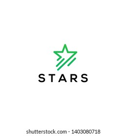 star logo icon and logo template