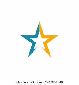 Star Logo Template Design Illustration