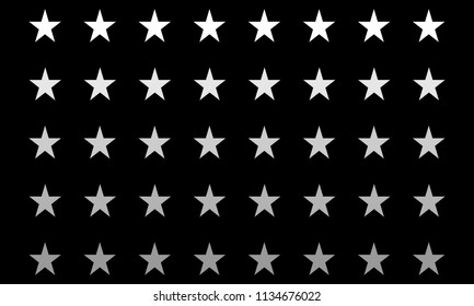 Star Pattern Background Illustration Vector