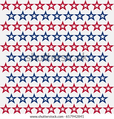 star pattern usa flag color background stock vector royalty free