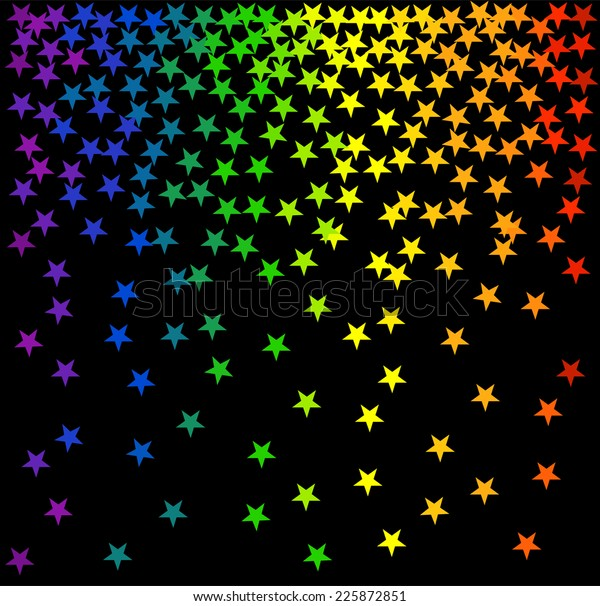 star rain abstract pattern many 600w 225872851