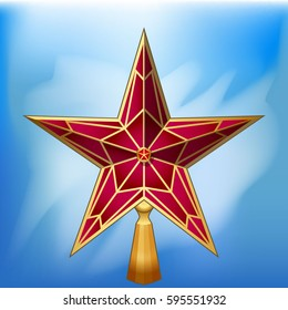 Star from the roof of the Moscow Kremlin