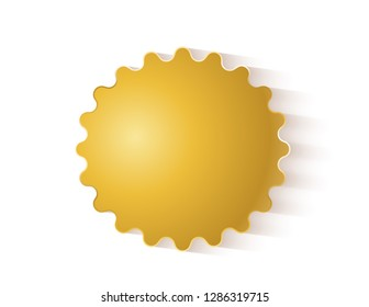 Star sticker empty