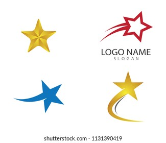 Star symbol illustration design