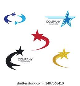 Star symbol vector icon illustration