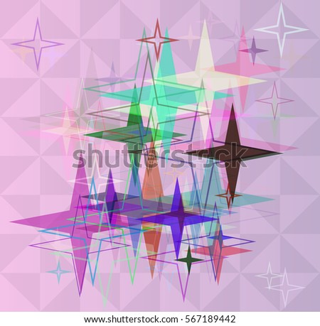Star Templates | Star Template Elements Stock Vector Royalty Free 567189442