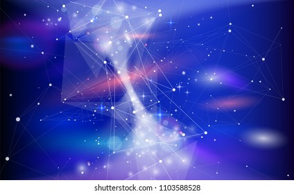 star trek among galaxies entangled by information networks - planets, stars and constellations, nebulae and galaxies  a metaphor for the network technologies, big data, digital economy, internet, web
