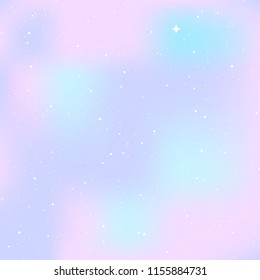 Star universe background. Pastel colour. Concept of galaxy, space, cosmos, space dust. Vector illustration