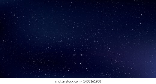 Star universe background, Stardust in deep universe, Milky way galaxy, Vector Illustration.