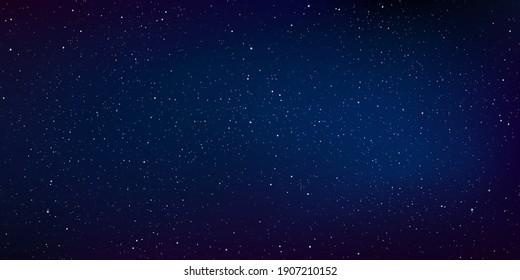 Star universe background, Stardust in deep universe, Milky way galaxy, Vector Illustration.