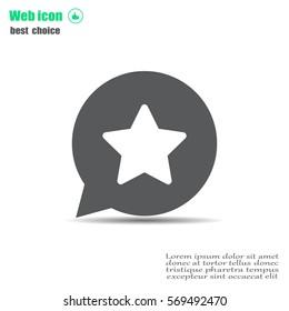 star - vector icon