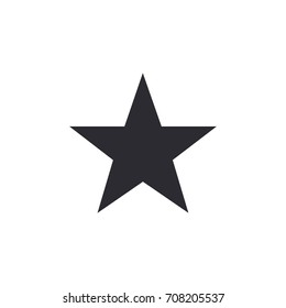 Star vector icon. Vector star. Star icon. Favorites icon. Rating sign. Level complete. Level up. Ui element. Star button. Logo template.