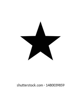 Star Vector Icon on white background. Illustration for design