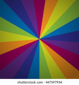 Starburst vector background. Starburst abstract. Color rays.