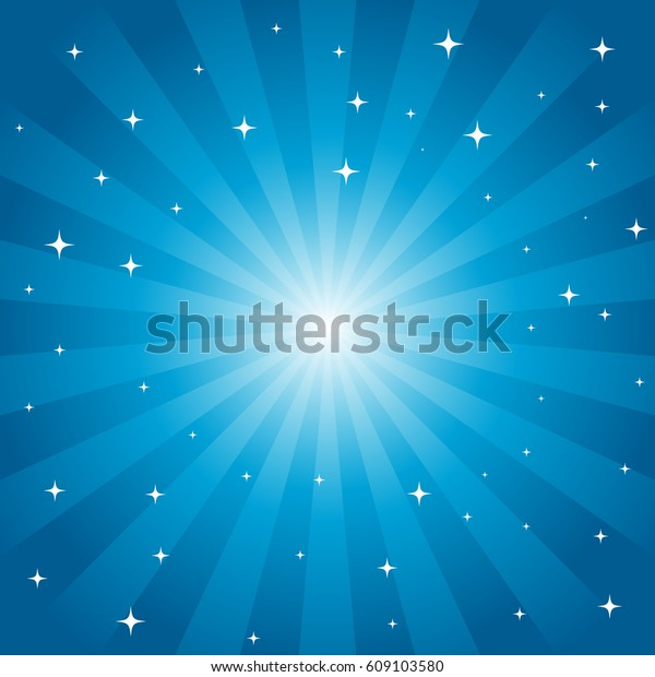Starburst Vector Background with Star Layer. EPS8 vector
