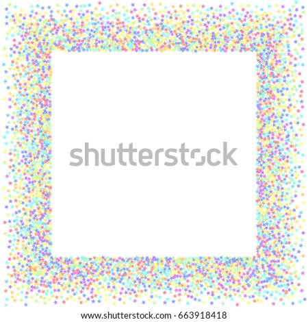 starry background square card star vector stock vector royalty free