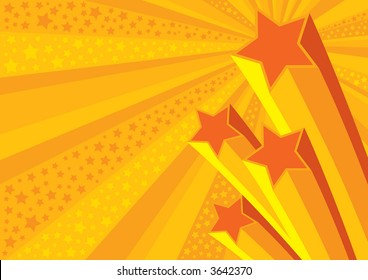 Stars Background (editable vector) - also available rasterized jpeg in my portfolio
