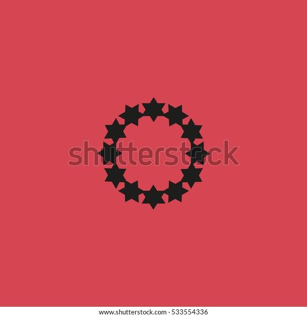 stars in a circle