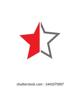 Stars icon logo design inspiration vector template