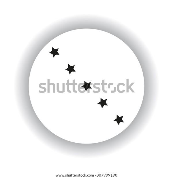 stars. icon. vector design