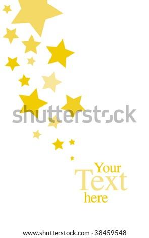 stars invitation template stock vector royalty free 38459548