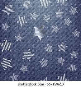 Stars pattern. Endless abstract background vector illustration, image. Creative, luxury gradient style. Print cloth, clothing, wrap, wrapper, web, cover, banner, poster, greeting, invitation, gift.