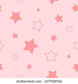 stars seamless aop print