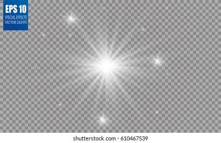 The stars, the Shining stars, brightness and beauty. Christmas illustration.