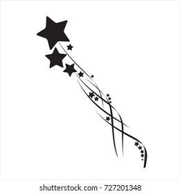 Stars. Star design tattoos.