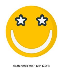 star-struck expression emoticon