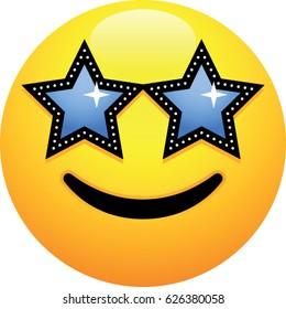 Star-Struck Face Emoji