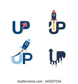 Start Up Logo Set Logo Sign Symbol Icon