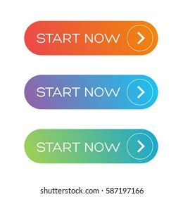 Start Now web button set