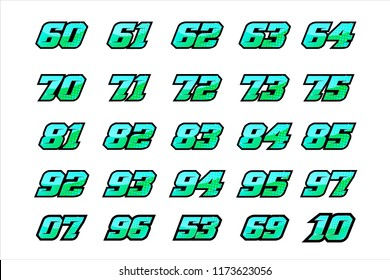 Racing Font Images, Stock Photos & Vectors | Shutterstock